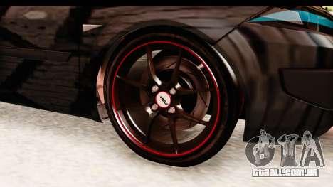 Renault Megane Spyder Full Tuning v2 para GTA San Andreas vista traseira