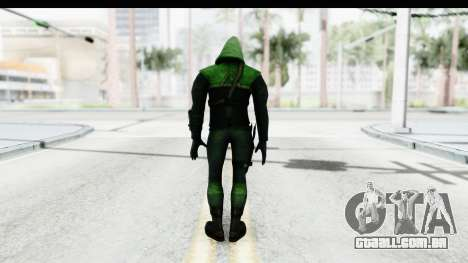 Injustice God Among Us - Green Arrow TV Show para GTA San Andreas terceira tela