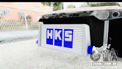 Honda Accord 2010 JDM para GTA San Andreas vista interior