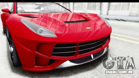GTA 5 Dewbauchee Seven 70 IVF para GTA San Andreas vista superior