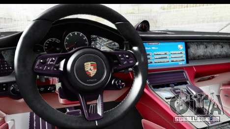 Porsche Panamera 4S 2017 v1 para GTA San Andreas vista direita