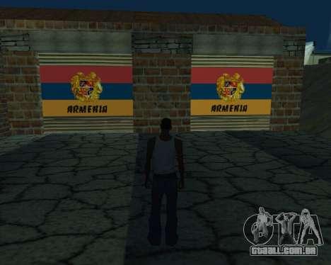 Nova garagem Arménia para GTA San Andreas