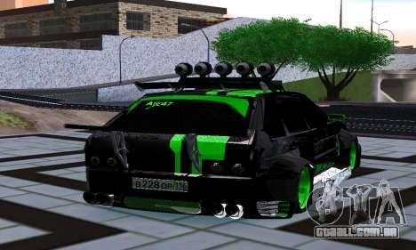 VAZ 2114 DTM para GTA San Andreas traseira esquerda vista