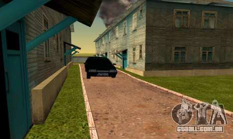 O novo bairro, perto de Arzamas para GTA San Andreas
