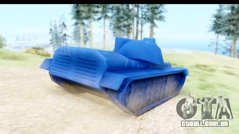 Tank M60 from Army Men: Serges Heroes 2 DC para GTA San Andreas esquerda vista