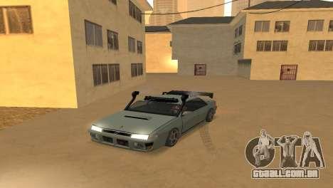 Super Sultan para GTA San Andreas vista direita