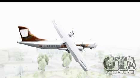 ATR 72-500 ConViasa para GTA San Andreas esquerda vista