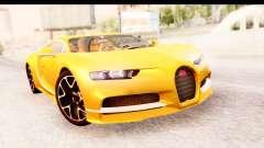 Bugatti Chiron 2017 v2.0 Updated para GTA San Andreas