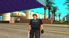 Original SWAT pele sem máscara