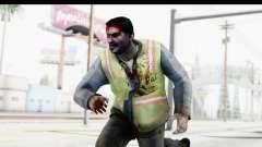 Left 4 Dead 2 - Zombie Baggage Handler para GTA San Andreas