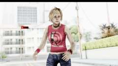 Silent Hill 3 - Heather Sporty Red Silent Hill para GTA San Andreas