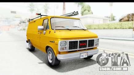 GMC Vandura 1985 HQLM para GTA San Andreas