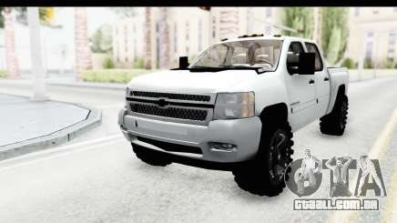 Chevrolet Silverado Duramax 2012 para GTA San Andreas