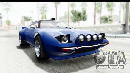 GTA 5 Lampadati Tropos Rallye No Headlights IVF para GTA San Andreas