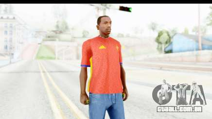 Spain Home Kit 2016 para GTA San Andreas