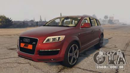 Audi Q7 AS7 ABT 2009 para GTA 5
