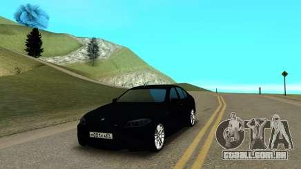 BMW M5 F10 preto para GTA San Andreas