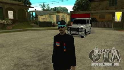 Armenian Skin para GTA San Andreas