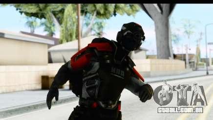 Homefront The Revolution - KPA v1 Captain para GTA San Andreas