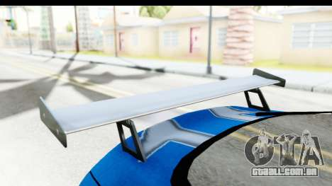NFS: Carbon Darius Toyota Supra Updated para GTA San Andreas vista interior