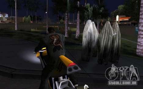 Transparent Ghost para GTA San Andreas terceira tela