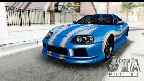 NFS: Carbon Darius Toyota Supra Updated para GTA San Andreas
