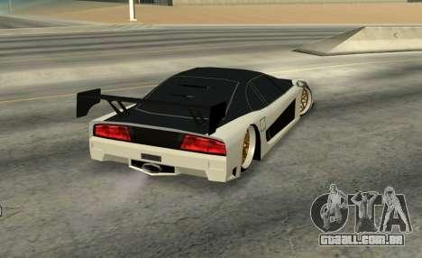Turismo Major para GTA San Andreas esquerda vista