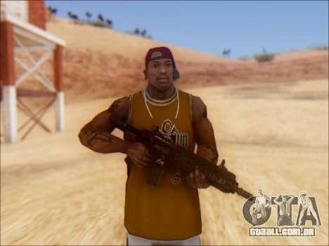 GTA 5 Vom Feuer Carbine Rifle para GTA San Andreas segunda tela