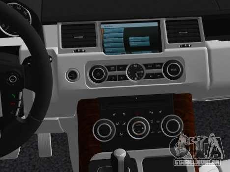 Range Rover Sport HSE (Rims 1) v2.0 para GTA Vice City vista superior