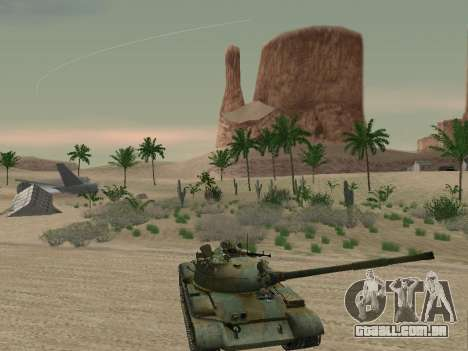T-62 para o motor de GTA San Andreas
