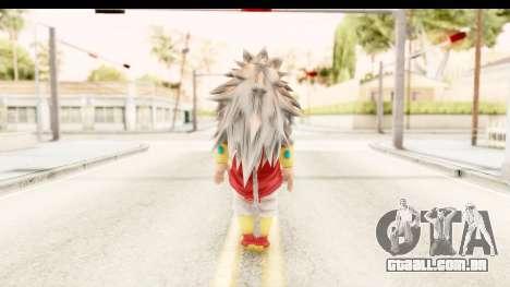 Dragon Ball Xenoverse Broly SSJ5 para GTA San Andreas terceira tela