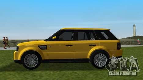 Range Rover Sport HSE (Rims 1) v2.0 para GTA Vice City deixou vista