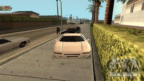 Cheetah Mod para GTA San Andreas terceira tela