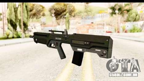 GTA 5 Vom Feuer Advanced Rifle para GTA San Andreas segunda tela