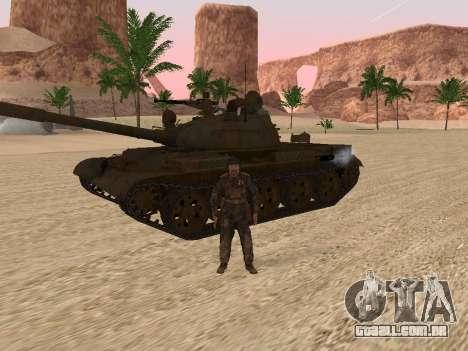 T-62 para GTA San Andreas