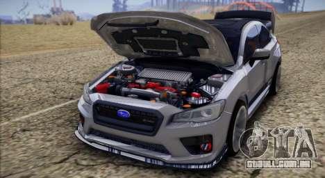Subaru WRX STI LP400 2016 para GTA San Andreas vista direita