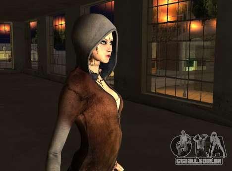 Kat from DMC para GTA San Andreas terceira tela