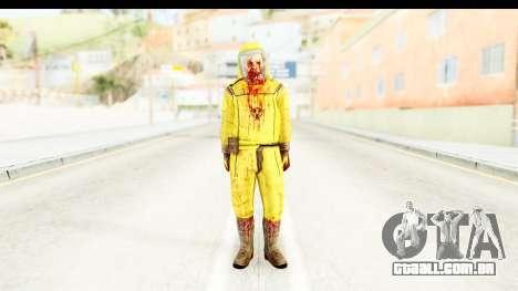 Zombie Radioactivo para GTA San Andreas segunda tela
