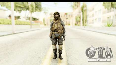 PLA Russian para GTA San Andreas segunda tela