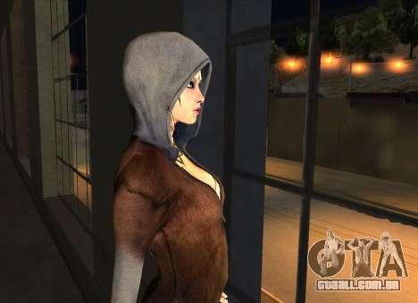 Kat from DMC para GTA San Andreas por diante tela