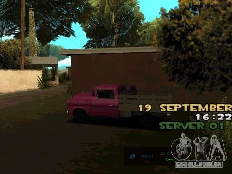 C-HUD BREZZ para GTA San Andreas terceira tela