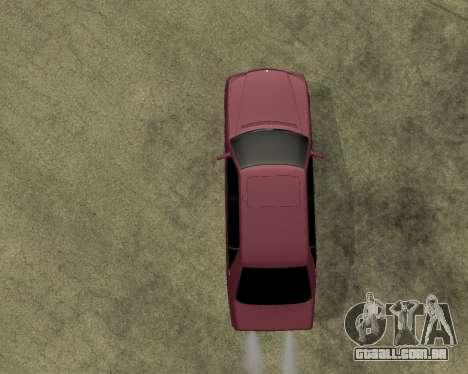 Mercedes S-600 Armenian para GTA San Andreas vista traseira