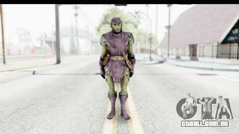 Marvel: Ultimate Alliance 2 - Green Goblin para GTA San Andreas segunda tela