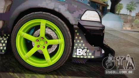 D1GP Toyota Mark II Sunoco Monster para GTA San Andreas traseira esquerda vista