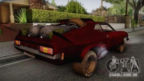 Ford Falcon XB Last V8 Mad Max 2 para GTA San Andreas esquerda vista