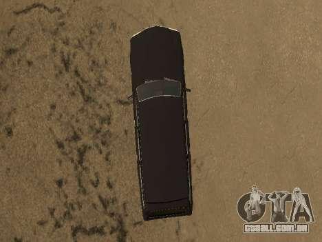 GAZ 310221 para GTA San Andreas traseira esquerda vista