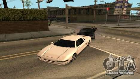 Cheetah Mod para GTA San Andreas segunda tela