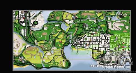 Remaster Map Full Version para GTA San Andreas sexta tela