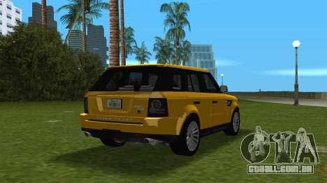 Range Rover Sport HSE (Rims 1) v2.0 para GTA Vice City vista direita
