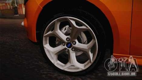 Ford Focus 2012 para GTA San Andreas vista direita